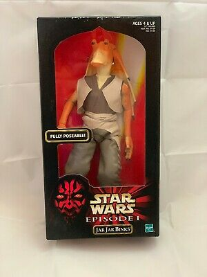 "Star Wars Episode 1 Jar Jar Binks Hasbro Action Collection 1999 12"" Action Figur"