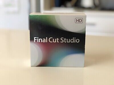 Apple Final Cut Studio HD MB647Z/A