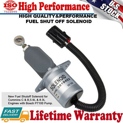 High Performnce Fuel Shut Off Solenoid For Ford Cummins Diesel Engine 8.3L 5.9L