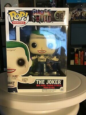 Funko Pop Suicide Squad: The Joker(shirtless)#96
