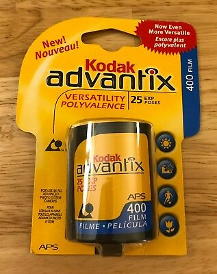 New: Kodak Advantix 400 Film, Expired.