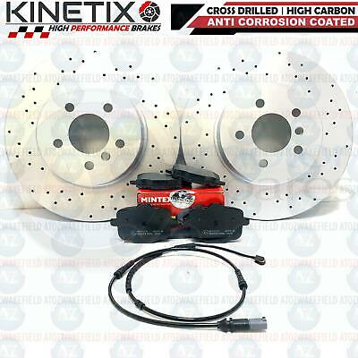 FRONT REAR BRAKE DISCS 348mm 345mm BMW F12 F13 640d 640i 650i CABRIO COUP 02//11