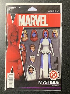 Marvel Comics Powers Of X #2 Action Figure Variant 2019 CASE FRESH 1st Print NM