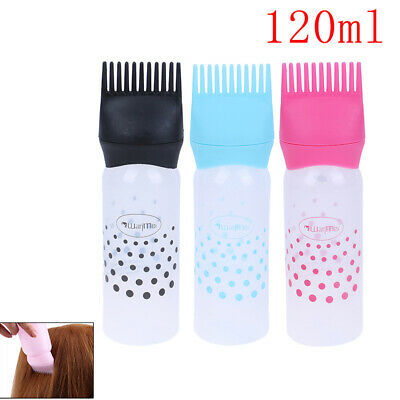 Hair Dye Bottle Applicator Brush Dispensing Hair Coloring Dyeing Accessories KT