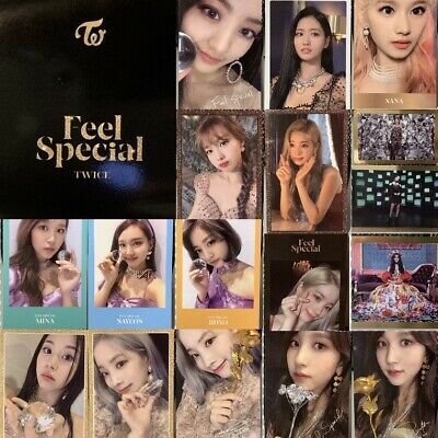 TWICE - 8th Mini Album FEEL SPECIAL Official Photocard