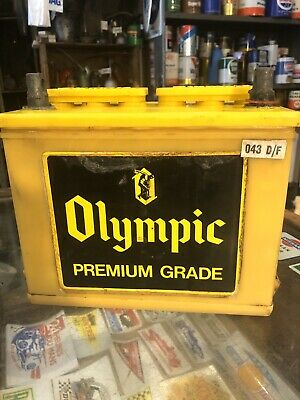 Olympic Tyre Genuine Vintage Battery Ford