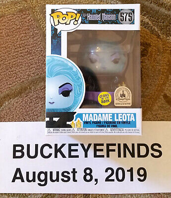 IN HAND GITD Park Exclusive Haunted Mansion Madame Leota Funko Pop