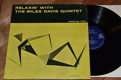 Miles Davis Relaxin' NM! RVG Shrink Prestige lp John Coltrane Red Garland