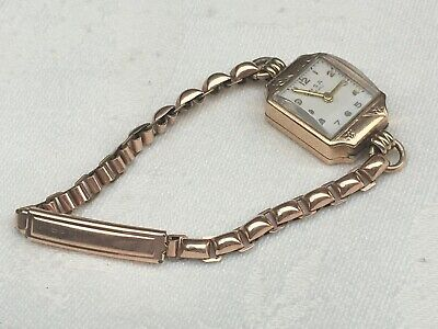 Vintage ONSA Ladies WATCH, Bracelet Band, Gold Filled, 15 Jewels, SWISS