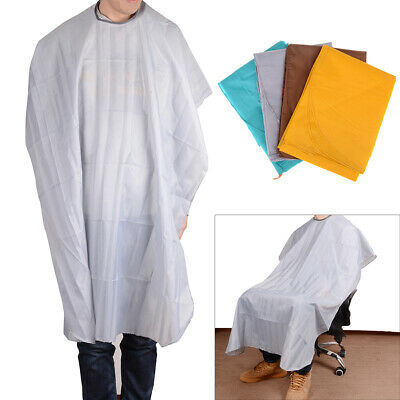 Waterproof hair cutting cape salon hairdressing gown apron barber cloth Jy