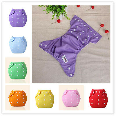 Toddler Girls Boys Washable Toilet Training Pants Nappy Underwear Cloth Diaper