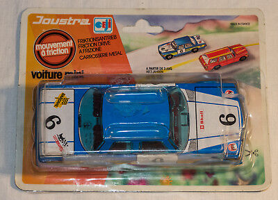 Joustra voiture mini; Blech Auto; Friction; Made in France; OVP