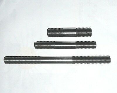 """26 tpi BSCy 1/4"""" to 5/8"""" Up to 12"""" long CUSTOM MADE CYCLE THREAD / CEI STUDS"""