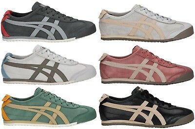 ONITSUKA 1183A051.251 MEXICO 66 MN´s M Dark Sepia Leather//Suede Lifestyle Shoe