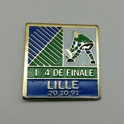 New Zealand v Canada 1991 iRB Rugby World Cup Lille RWC Quarter Final Pin Badge