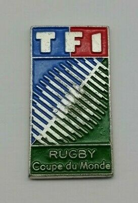 The 1991 iRB Rugby Union World Cup Logo TFI Coupe Du Monde RWC Pin Badge