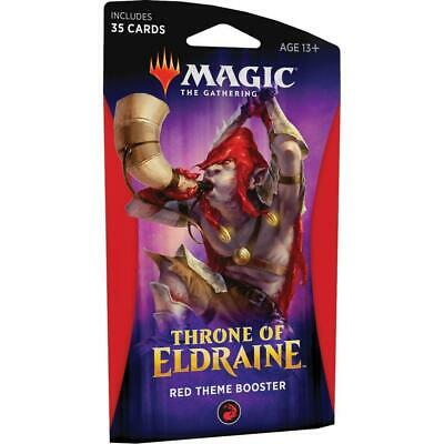 Magic: The Gathering - Throne of Eldraine Black Theme Booster - Red