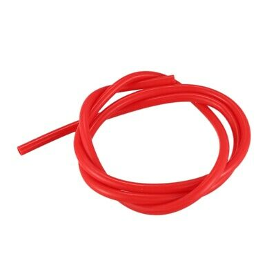 3X(2 Meter Red Silicone Vacuum Tube Hose 8mm ID 12mm OD for Car R7N4)