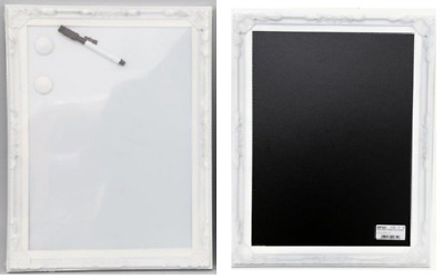 Ornate Magnetic Pins White Board Black Wall Chalkboard Dry Wipe Drawing Notice