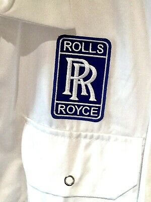 """Fine Goodwood Revival Classic Vintage Rolls Royce Badged Overalls 50"""" Chest"""