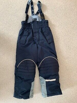 H&M  Ski Trousers Navy Blue Kids Aged 6-7 Years 122cm