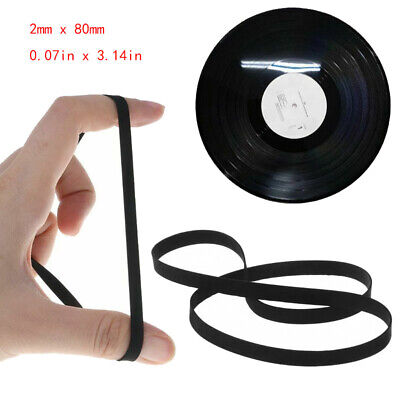 """NEW FRX15.2 15.2/"""" Flat Rubber Replacement Belt for Turntables and More"""