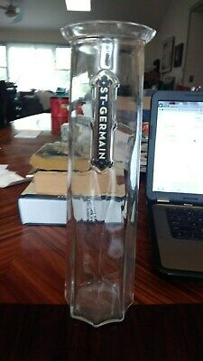 St Germain Carafe Large Glass Bar Wine Drink Mixing pitcher Cocktail Decanter