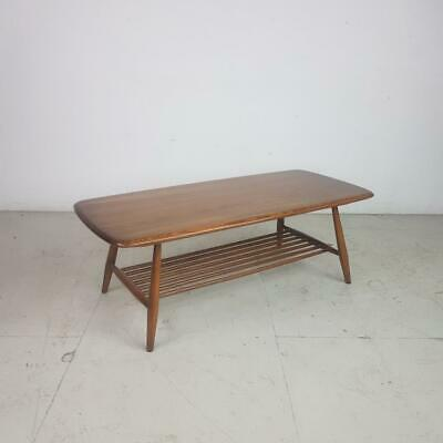 ERCOL COFFEE OCCASIONAL TABLE VINTAGE MIDCENTURY 60s #2797