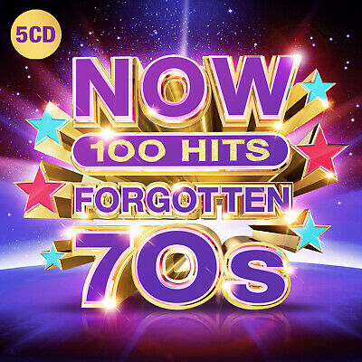 Now 100 Hits Forgotten 70S 5-Cd New Mint Pre-Order 29.11.2019