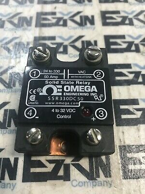 Omega Engineer Inc. Ssr330Dc50 Solid State Relay