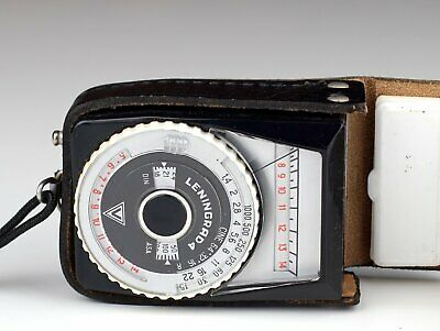LENINGRAD 4 EXPOSURE METER with CASE