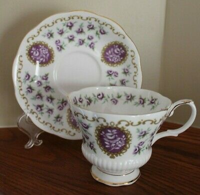 "Royal Albert  ""Cameo Series ""Fairing"" Cup and Saucer made in England"