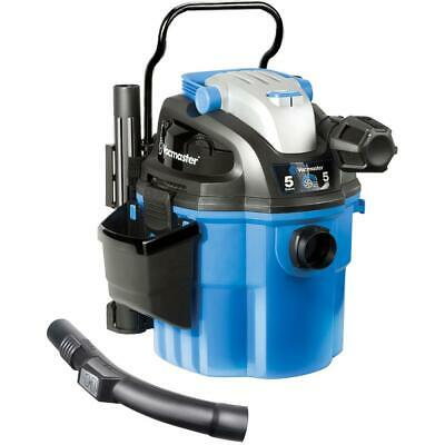 Vacmaster 5-gal. Wall Mount Portable Wet/Dry Vac 2-Stage Motor Auto Interior