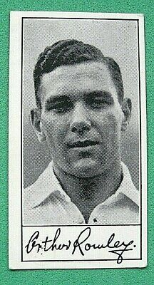 Famous Footballers - Series A5 - Barratt & Co  X1 Card #44 G. Rowley (Leicester)