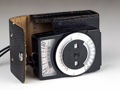 LENINGRAD 8 EXPOSURE METER with CASE