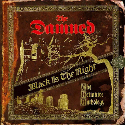 THE DAMNED 'BLACK IS THE NIGHT DEFINITIVE ANTHOLOGY' 2 CD - Released 01/11/2019