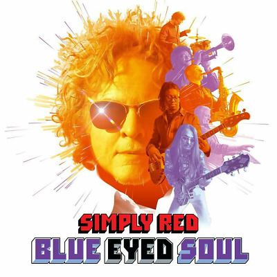 SIMPLY RED 'BLUE EYED SOUL' CD - Released 08/11/2019