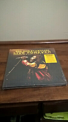 New, Sealed Bob Marley And The Wailers Live Forever 2CD+3 180-gram LPs Concert