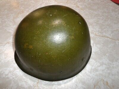 late Vietnam helmet liner used thru the 1980's in good condition