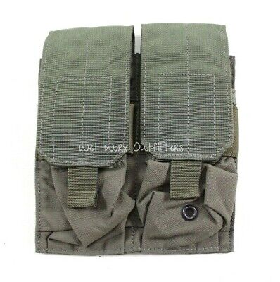 Eagle Allied Industries RLCS Ranger Green 2x2 Double 5.56 Mag Pouch 75th MBAV