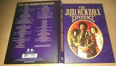 4 CDs The Jimi Hendrix Experience Box Set - NEU von 2015 Outtakes + Demos + Live