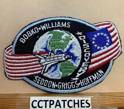 Rare Nasa Sts-51-D Shuttle Discovery Patch