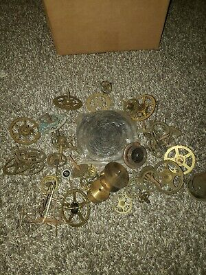 HUGE LOT OF VINTAGE CUCKOO CLOCK MOVEMENTS PARTS REPAIR Lot