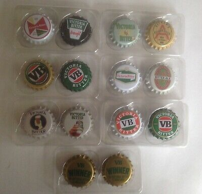 VB Collectables Classic Fridge Magnets - COMPLETE SET Brand new FREE POSTAGE