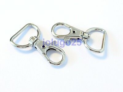 200 Metal Swivel Clasps Lobster Clasps Snap Clips For Paracord  #3750-200
