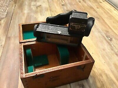 WWII English Marine Distance Meter Henry Hughes & Sons