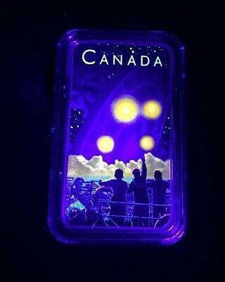 2019 Shag Harbour 2nd Coin Glow-in-the-Dark 1 oz Pure .9999 Silver Canada
