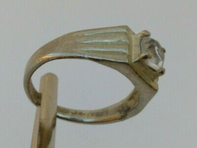 Ancient Roman Ring Silver Color Artifact Rare Beautiful Metal With Stone
