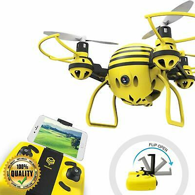 RC Drone with HD WiFi Camera Live Video RC Quadcopter w/ Altitude  Hold, Yellow