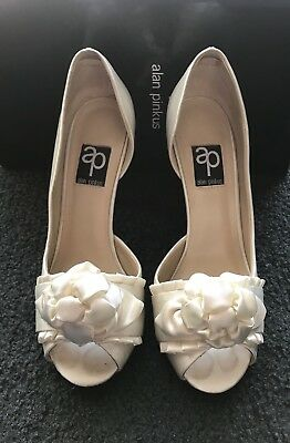 Alan Pinkus Ivory Wedding Shoes